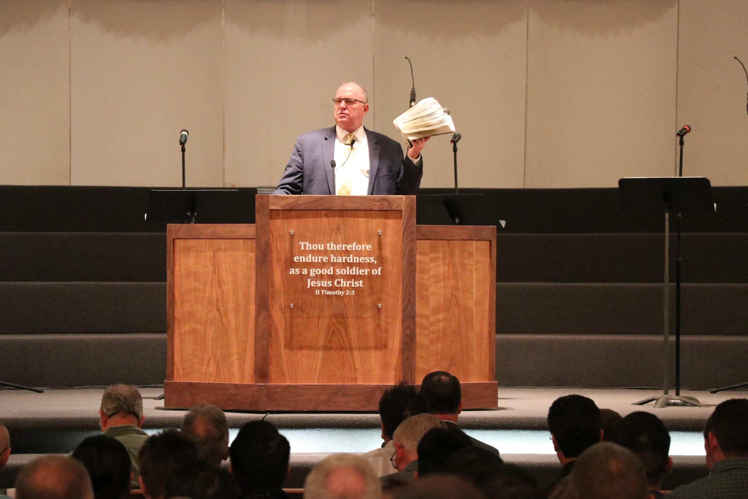 Pastor McCracken Preaching